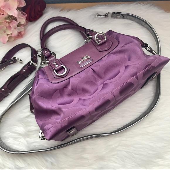 Coach Handbags - Coach Madison Sabrina Convertible Bag d424640a0e2f1